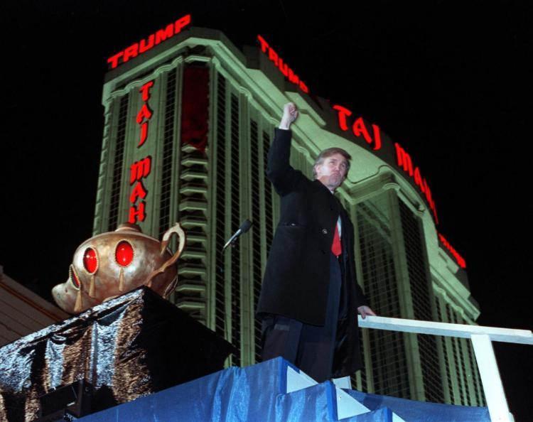 trump taj mahal owner